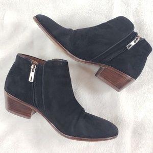 Sam Edelman Shoes - Sam Edelman Petty Chelsea black suede bootie 7M